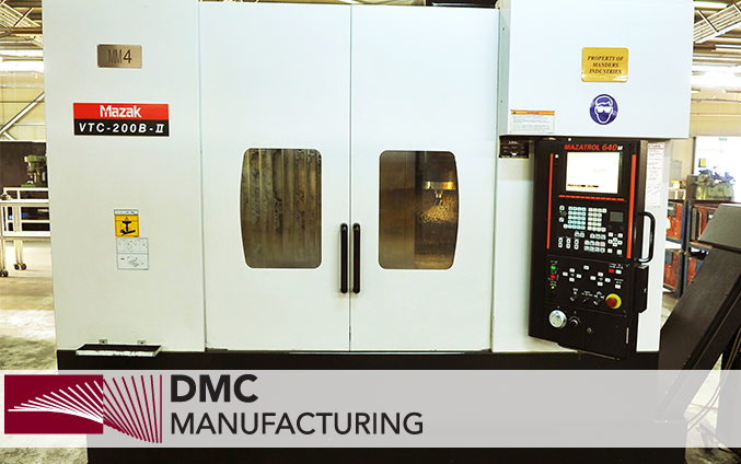 DMC Manufacturing Codlea, Brasov, Romania A modern production company specialized in the production of mechanical parts with an assembly department for building modules and total assemblies.